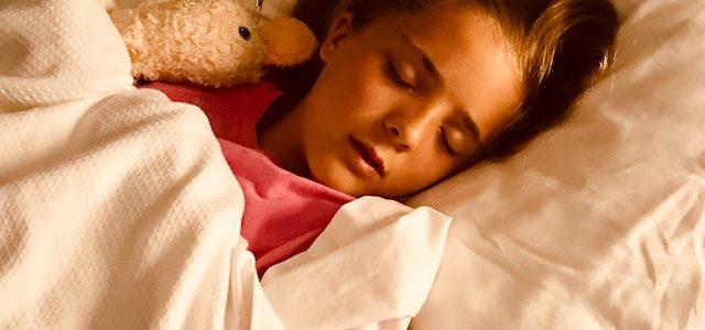 Belangen van slaap voor kinderen